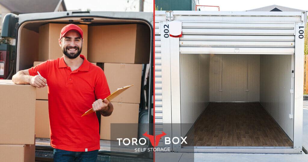 Torobox mini skladište, lak pristup kolima